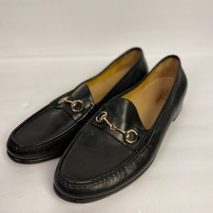 Men's Cole Haan black leather loafers